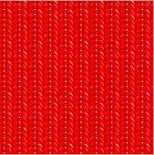 Modèle de tricot rouge transparente — Vecteur
