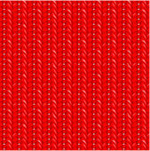 Seamless red knit pattern — Stock Vector
