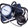 Stock Photo: Manual blood pressure medical tool
