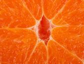 Fresh tangerine background — Stock Photo