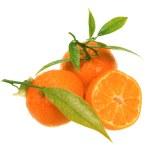 Fresh tangerines — Stock Photo #2141278