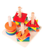 Wooden child toy — Stockfoto