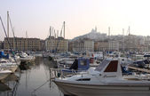Vieux port de Marseille — Stock Photo