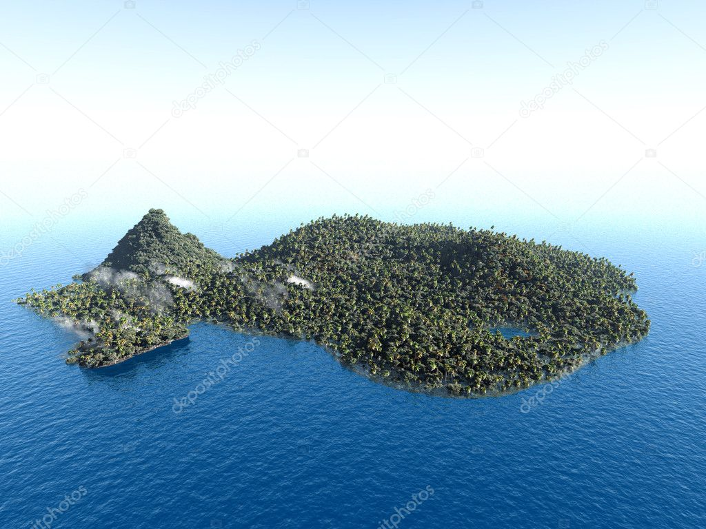 Deserted Islands In The Pacific