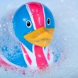 rubber duck&quot — Stock Photo