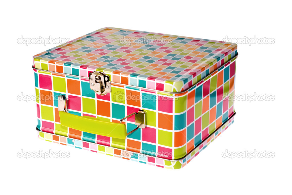 Lunch box separate in white background — Stock Photo #1934798
