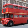 Stock Photo: Red london bus