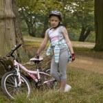 Bike riding — Stock Photo