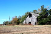 Old Country Barn — Stock Photo