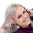 Blonde on a Cell phone — Stock Photo #1822672