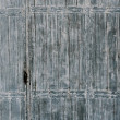 Old wooden gate door — Stock Photo