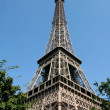 View of the Tour Eiffel (Paris, France) — Stock Photo