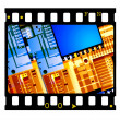 35mm Film frames — Stock Photo #1854732