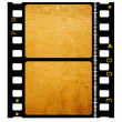 Old 35 mm movie Film - Stock Photo