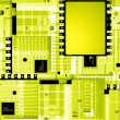 Electronic circuit board - Stock Photo