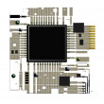 Electronic circuit board, — Stock Photo #1854914