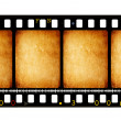 Stock Photo: Old 35 mm movie Film