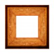 Wood Picture Frame — Stock Photo