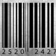 Bar code label — Stock Photo