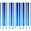 Royalty-Free Stock Photo: Bar code label