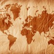 Vintage world map — Stock fotografie