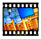 35mm Film frames — Stock Photo