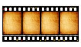 Starý film film 35 mm — Stock fotografie