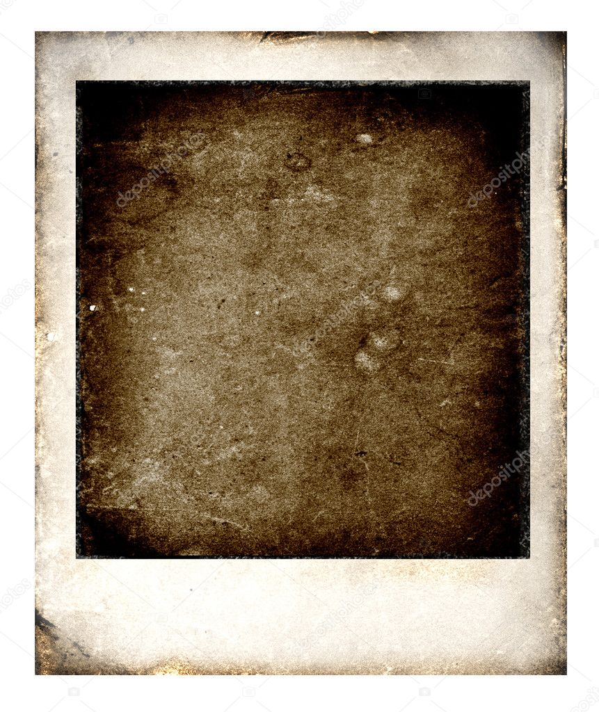 Old Polaroids film for background,2D art — Stock Photo #1854677