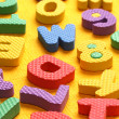 Royalty-Free Stock Photo: Alphabet and Number Blocks