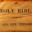 Stock Photo: Holy Bible