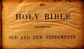 Holy Bible — Stock Photo