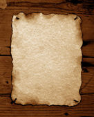 Burned Old paper — Stock Photo