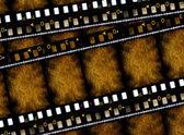 Old 35 mm movie Film — Stock Photo