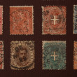 Old stamps — Stock Photo #1922526