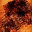 Royalty-Free Stock Photo: Thumbprint