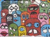 Graffiti. Mood. — Stock Photo