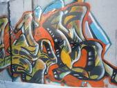 Graffiti.Abstract. City. — Stock Photo