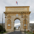 Arc de Triomphe, Montpellier — Stock Photo #1901032