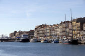 Harbor of Sete (Languedoc Roussillon) — Stock Photo