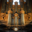 Pipe organ - Stock Photo