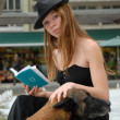 Reading woman — Stock Photo #2085714
