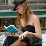 Reading woman — Stock Photo #2085714