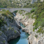 Pont du diable, Herault — Stock Photo #2332802