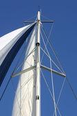 Sailing mast — Stock Photo