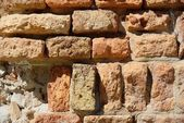 Brick wall detail — Stock Photo