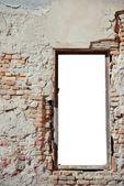 úpadek okenní rám 2 — Stock fotografie