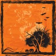 Royalty-Free Stock Vektorfiler: Halloween background