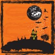 Halloween background — Stock Vector #1861847