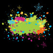 Color explosion - Stock Vector