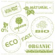 Eco stamps - Stock Vector